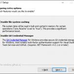 Git installation 8